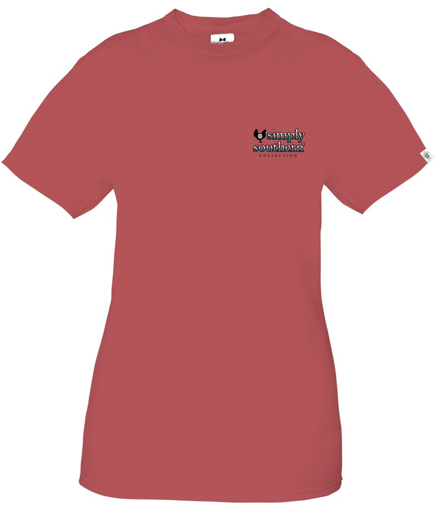 Simply Southern Short Sleeve Tee My Best in Spice