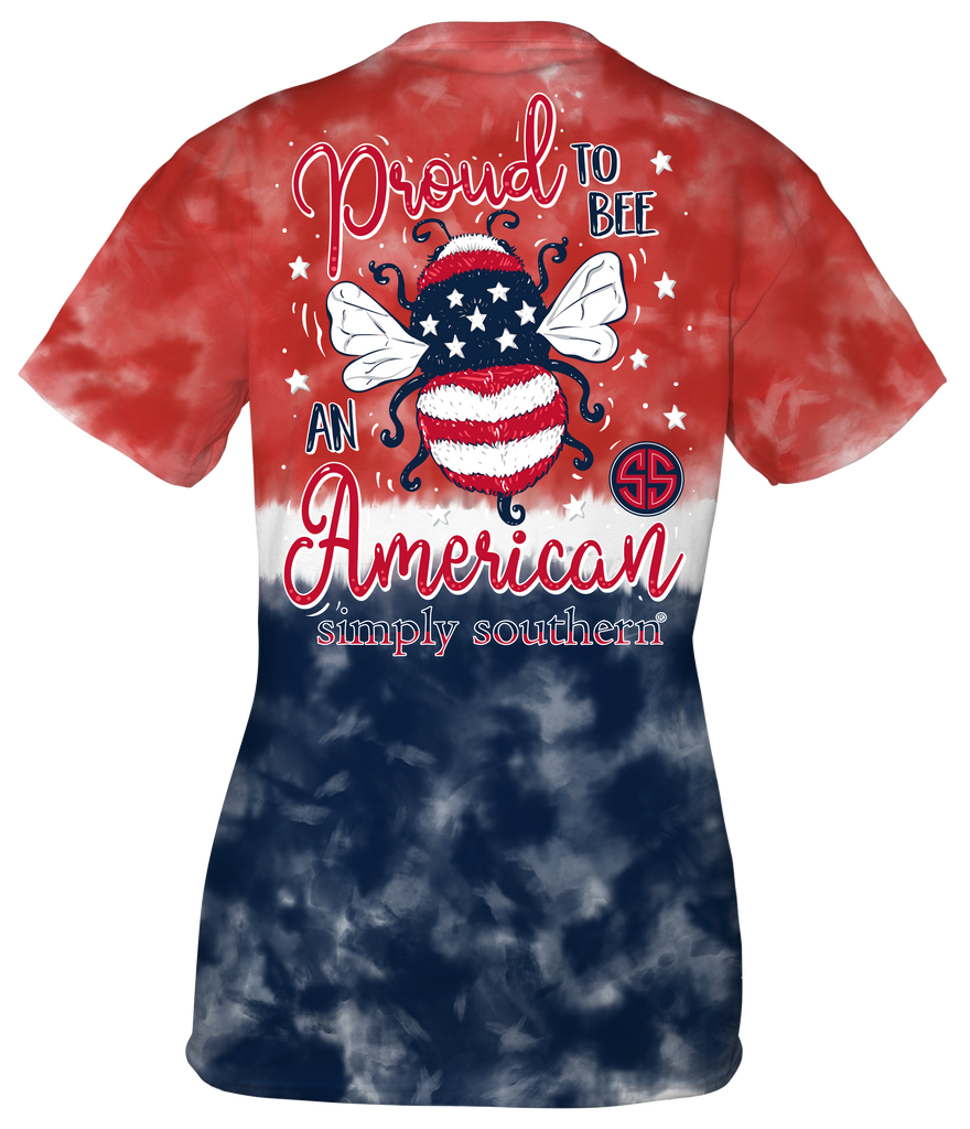 Youth Simply Southern Short Sleeve Tee Shirt Proud America