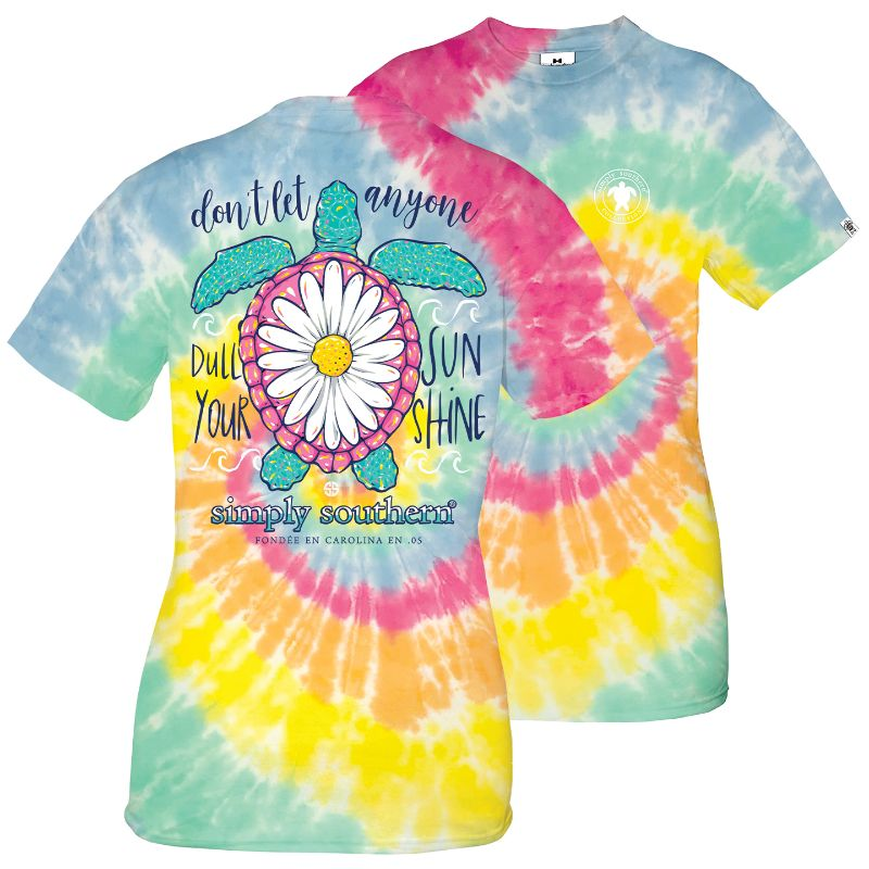 Youth Simply Southern Short Sleeve Tee Shirt Sunshine
