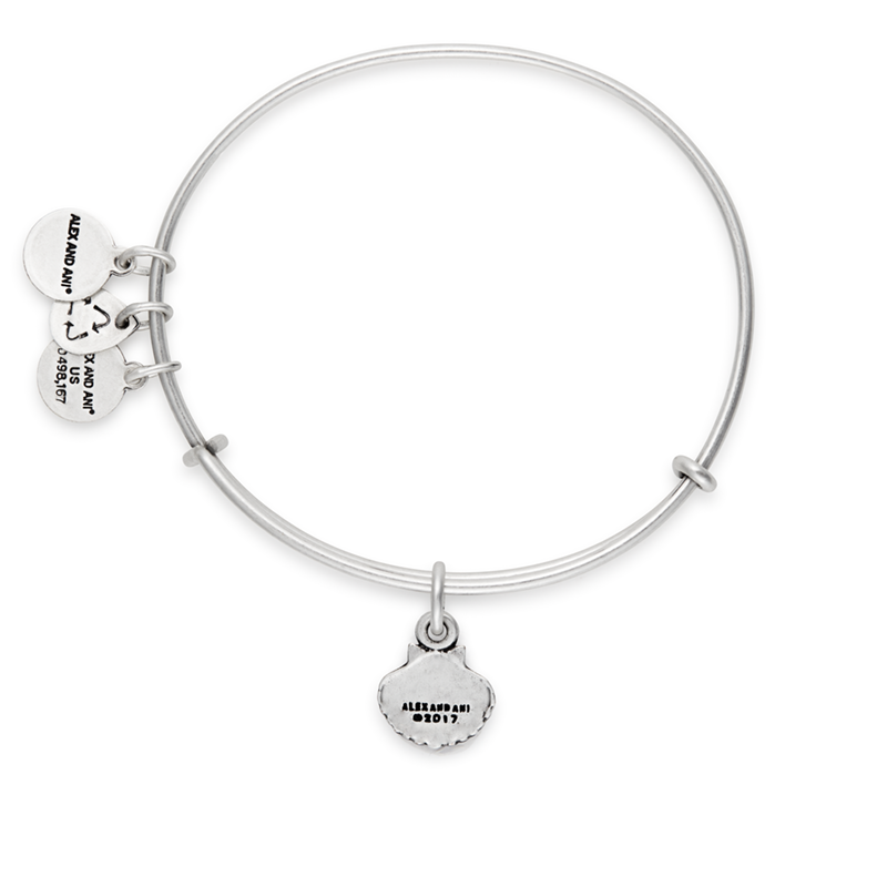 Alex and Ani - Sea Shell Bracelet - Rafaelian Silver - Artsy Abode