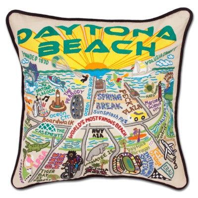 catstudio Daytona Beach Pillow - Artsy Abode