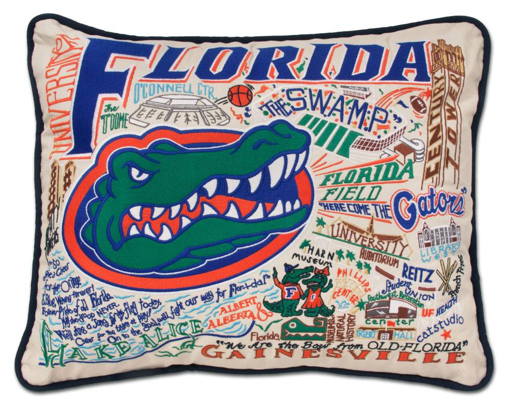 "catstudio - Florida Gators Extra Large Pillow 30"" x 40"" - Artsy Abode"