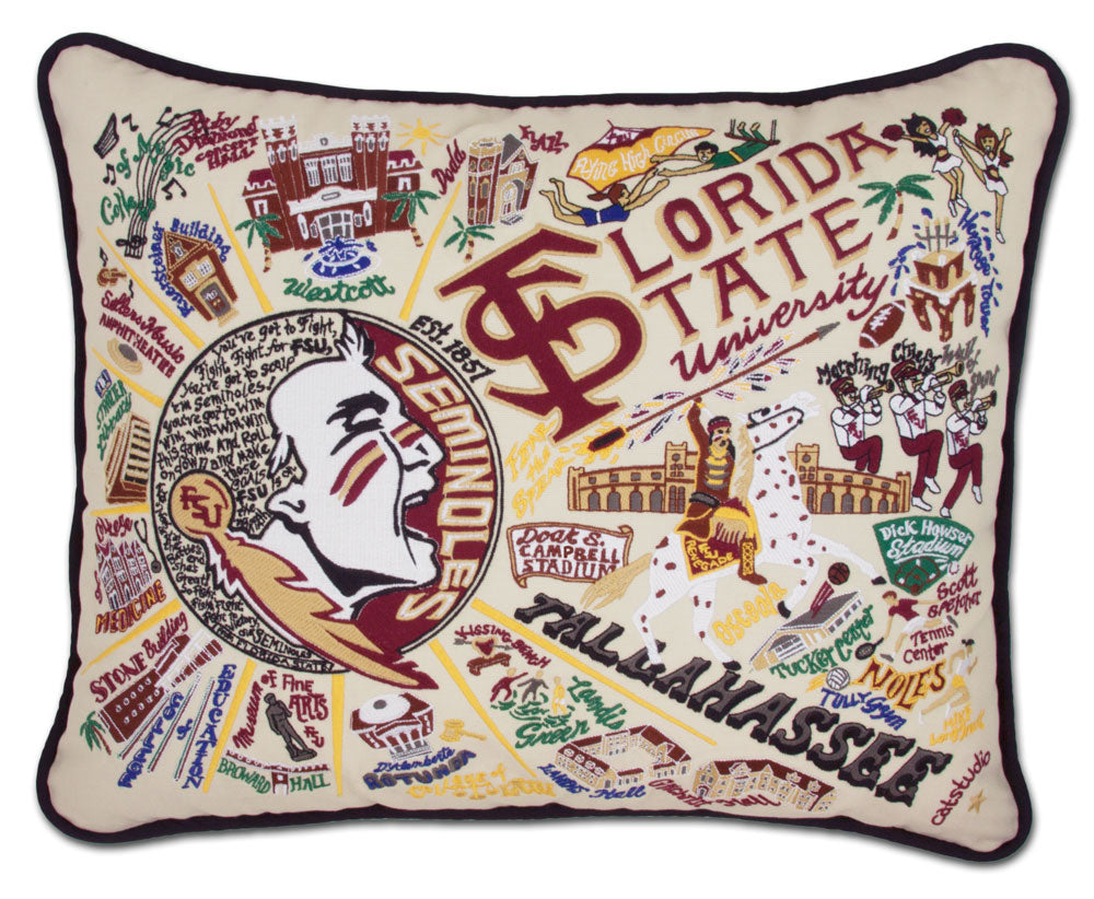 catstudio - Florida State University Pillow - Artsy Abode