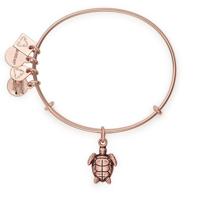 Alex & Ani - Charity by Design: Sea Turtle- Rose Gold - Artsy Abode