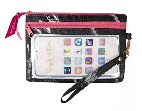 Simply Southern Phone Wristlet -Marble - Artsy Abode