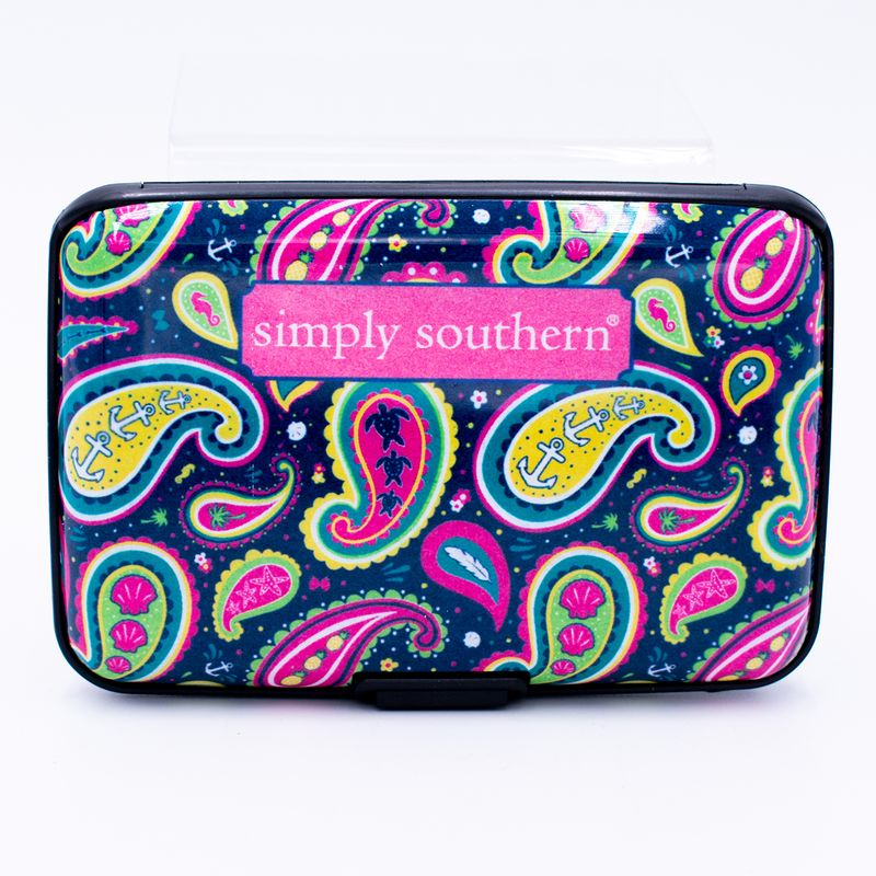 Simply Southern - Security Wallet Paisley - Artsy Abode
