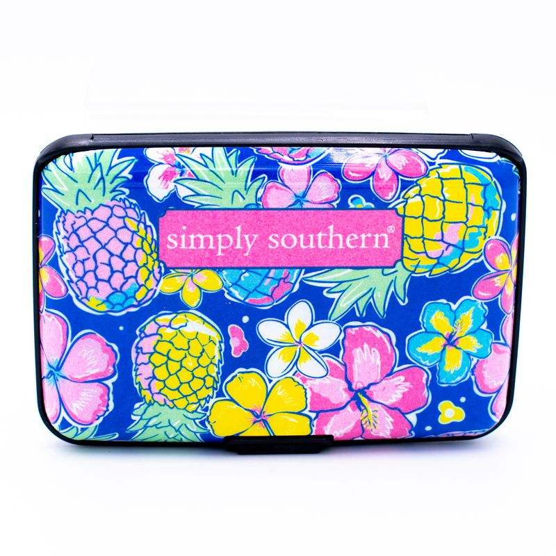 Simply Southern - Security Wallet - Pineapple - Artsy Abode