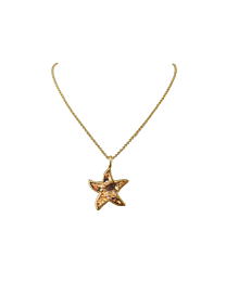 Sand Bar - Starfish Necklace - Gold - Artsy Abode