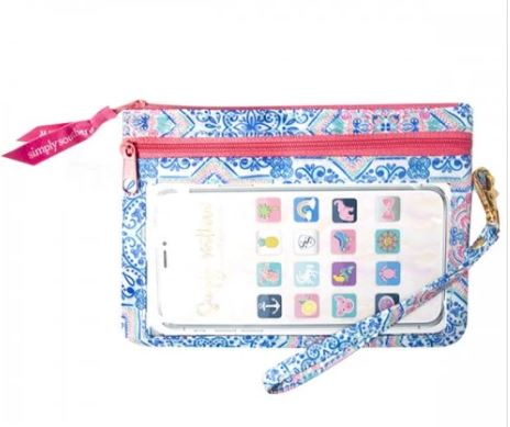 Simply Southern Phone Wristlet -Moroccan - Artsy Abode