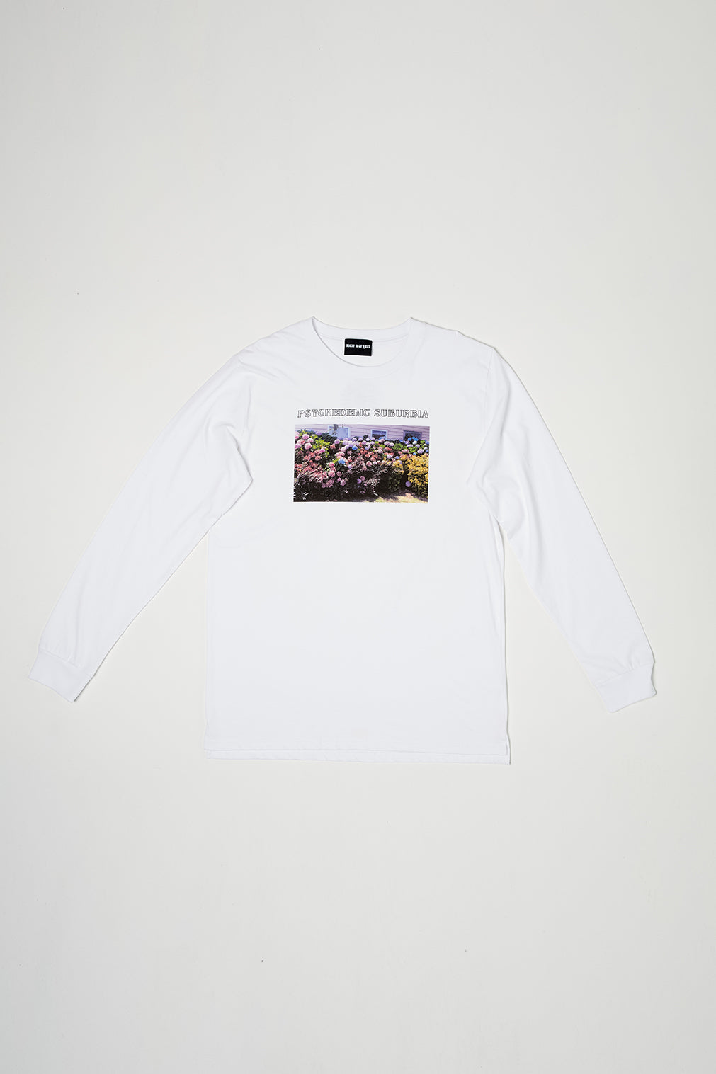 PSYCHEDELIC SUBURBIA MENS LS - WHITE