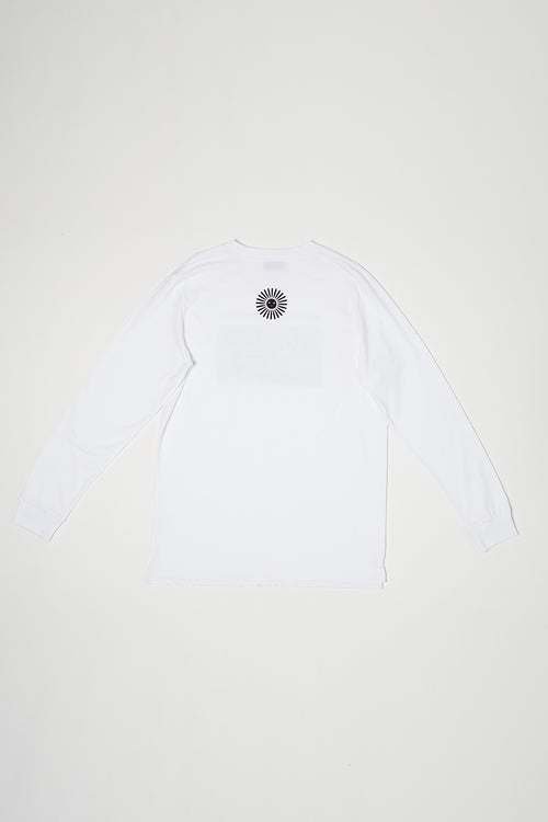 OUTER SPACE MENS LS - WHITE