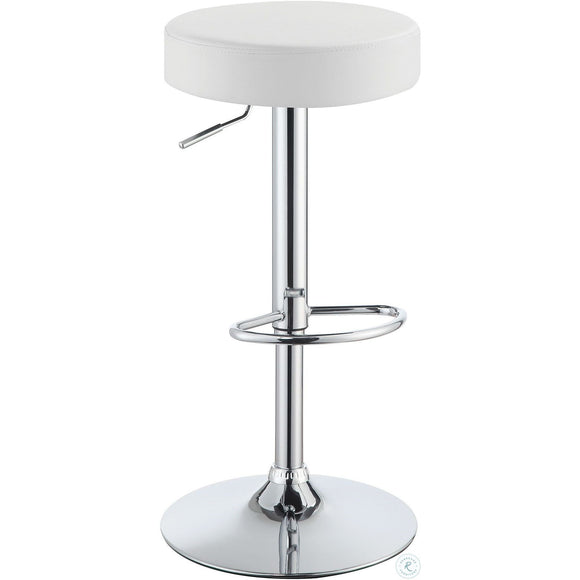 ROUND BAR STOOL - 2 COLORS