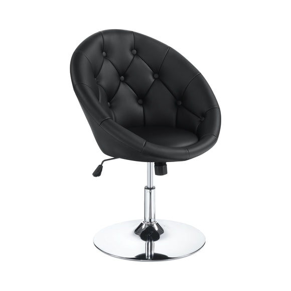 TUFTED SWIVEL CHAIR - 2 COLORS