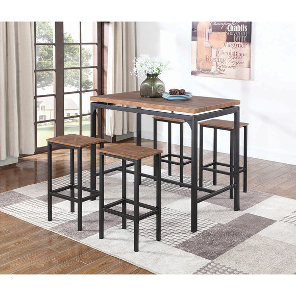 5pc WEATHERED BAR SET
