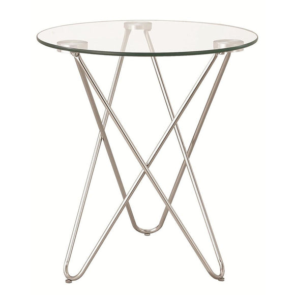 HAIRPIN ACCENT TABLE