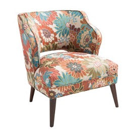 CODY FLORAL ACCENT CHAIR