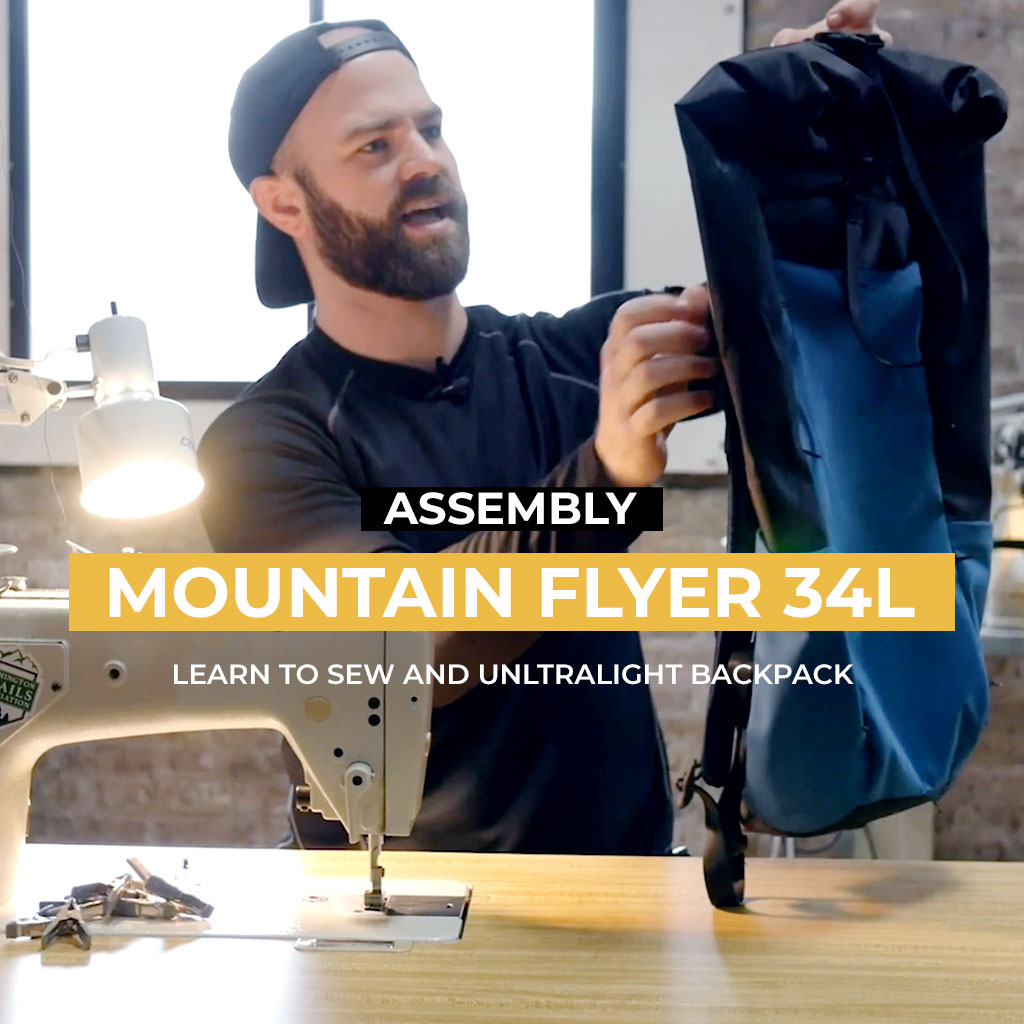 Lesson: Mountain Flyer Ultralight Backpack – 34L