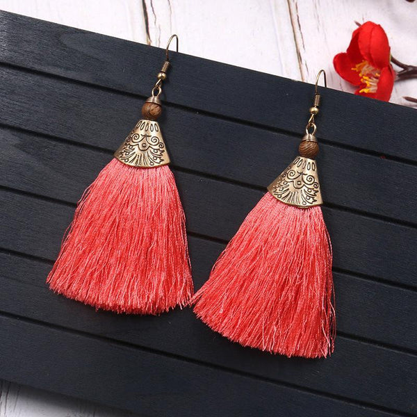 Vintage Bohemian Tassels Chic Earrings