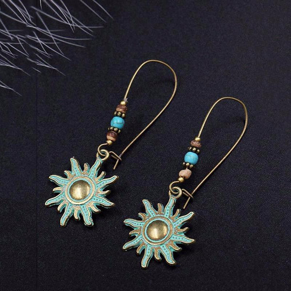 Bohemian Charm Earrings Fashion Retro Personalized Party Earrings