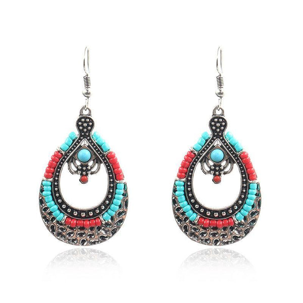 Vintage Bohemian Teardrop-shaped Chic Earrings