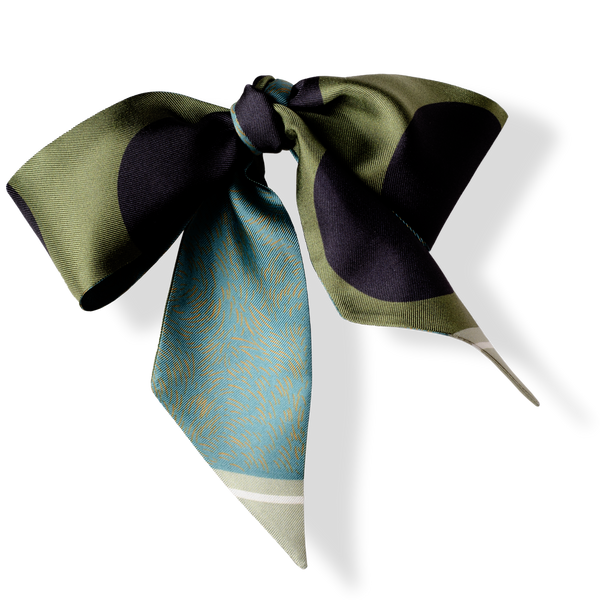 Silk Scarf - Evergreen