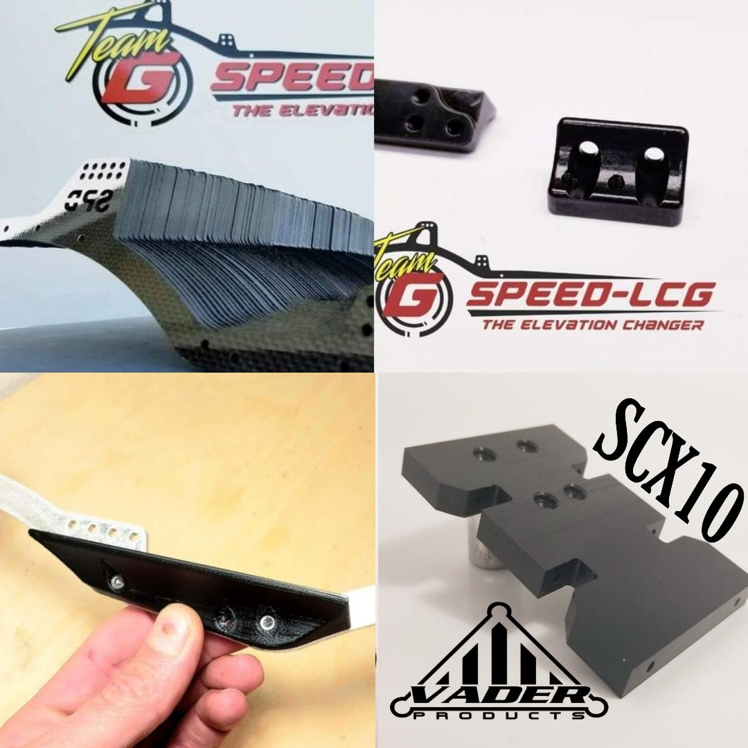 GSPEED Chassis Element or Custom portal build- carbon fiber package deal