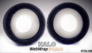 Ottsix Racing 1.9 HALO WebWrap Foams - 2 foam inserts