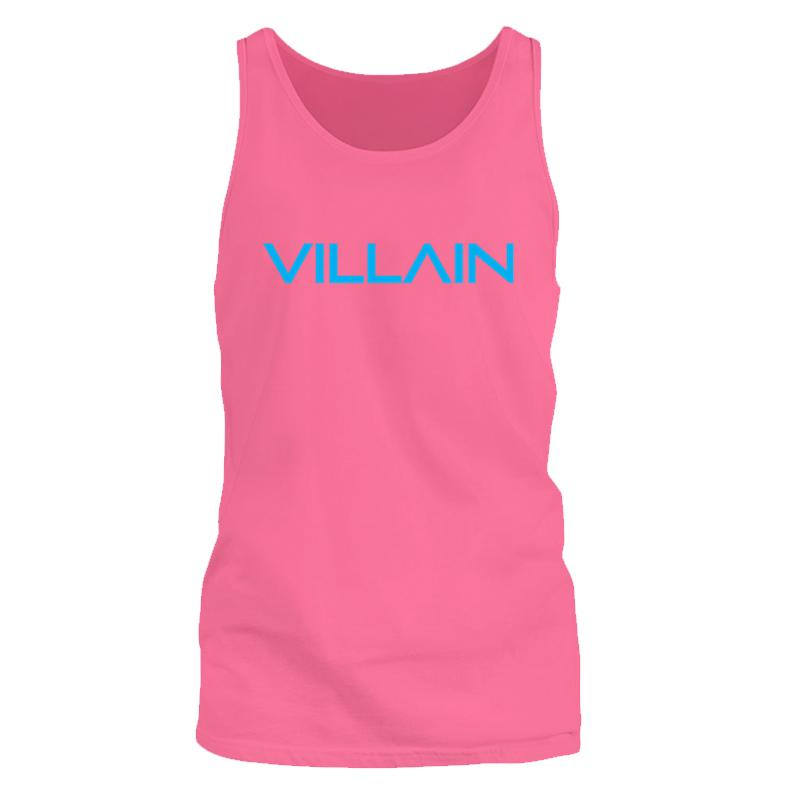 VILLAIN - TANK SLEEVELESS T'S - PINK