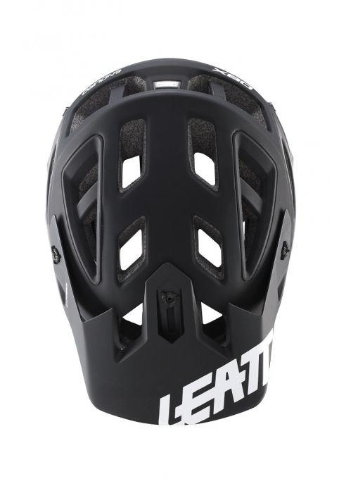 LEATT - HELMET DBX 3.0 ENDURO V2 - BLACK/WHITE