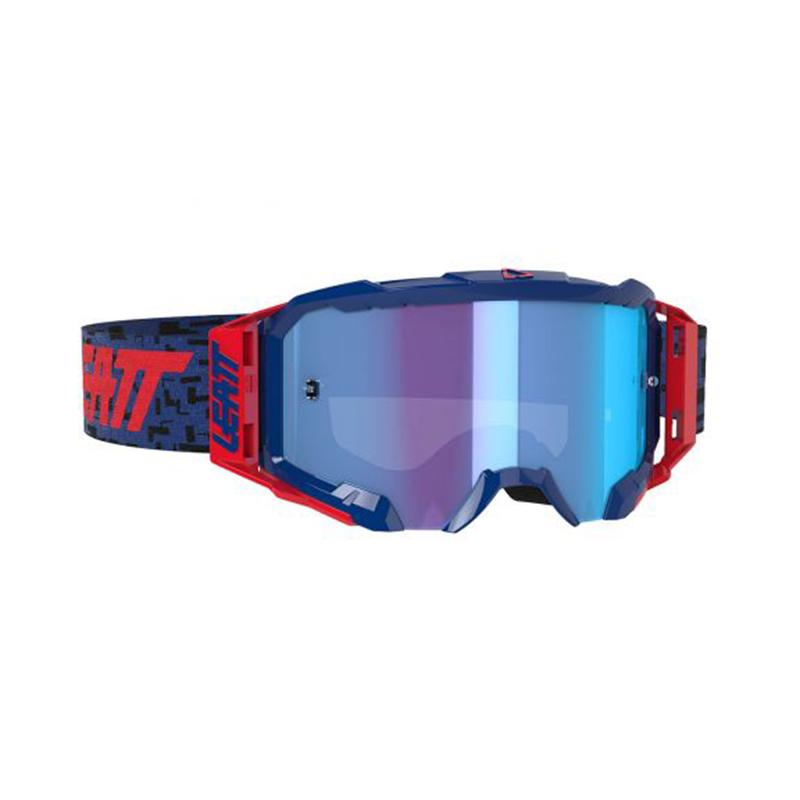 LEATT - GOGGLE VELOCITY 5.5 IRIZ ROYAL BLUE 49%