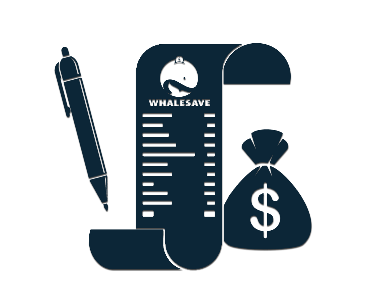 Whalesave track spending