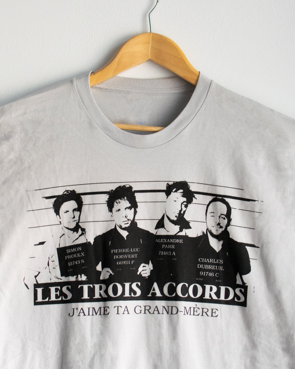 T-SHIRT - Les Trois Accords - JTGM - Horizontal