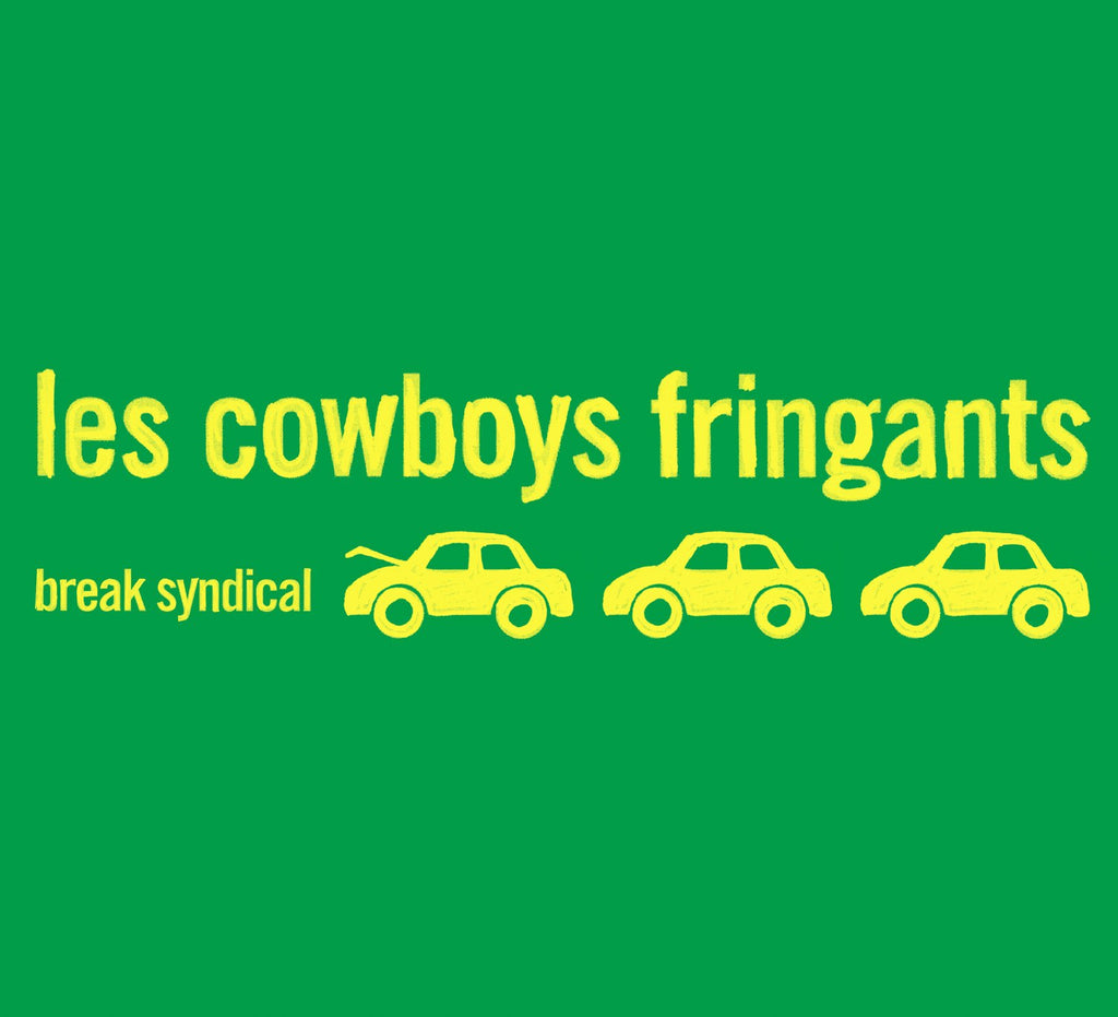 CD – Les Cowboys Fringants – Break Syndical – TRICD7200