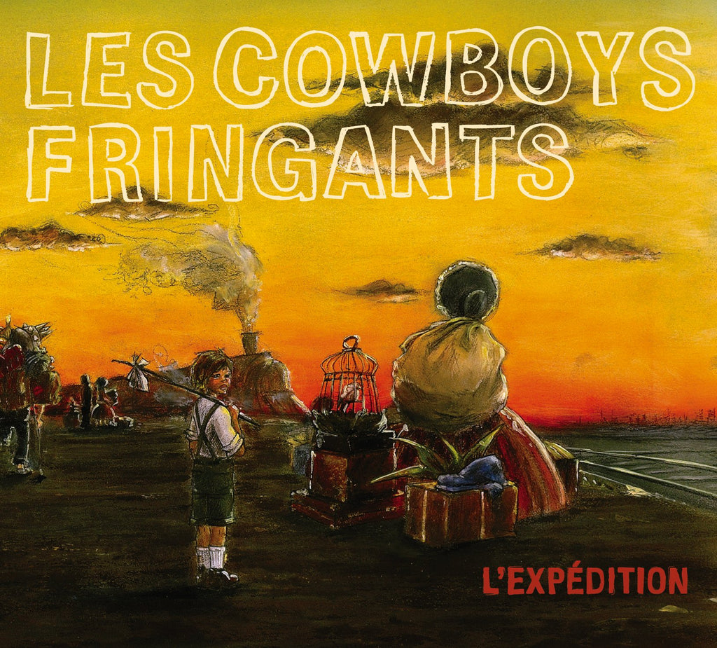 CD – Les Cowboys Fringants – L'Expédition – TRICD7283