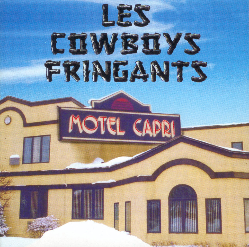 CD – Les Cowboys Fringants – Motel Capri – EKCD008