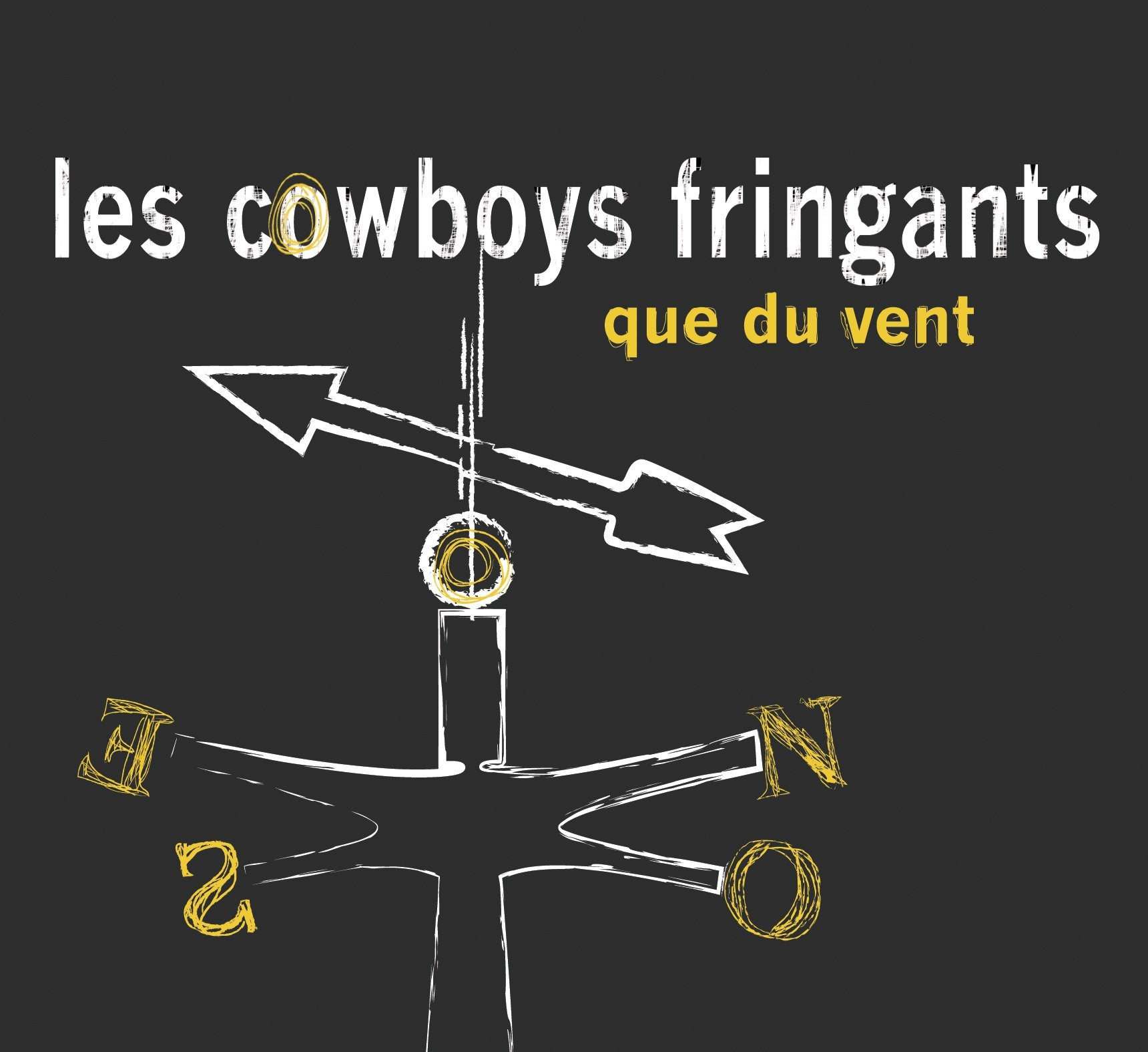 CD - Les Cowboys Fringants - Que du vent - TRICD7318