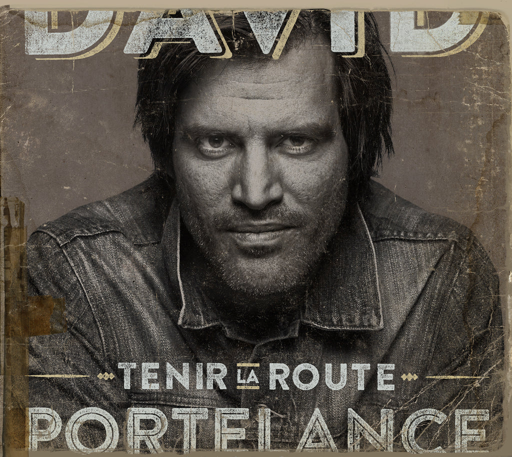 CD – David Portelance – Tenir la route – TRICD7353