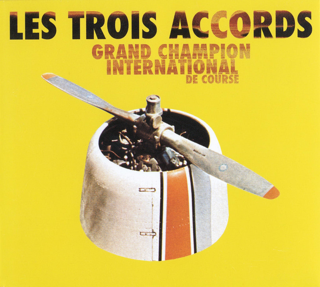 CD - Les Trois Accords - Grand champion international de course - TRICD7356