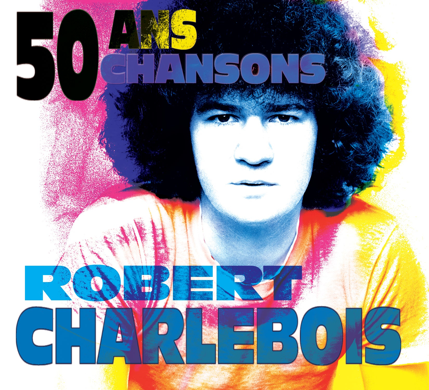 CD - Robert Charlebois - 50 ans 50 Chansons - TRICD7343