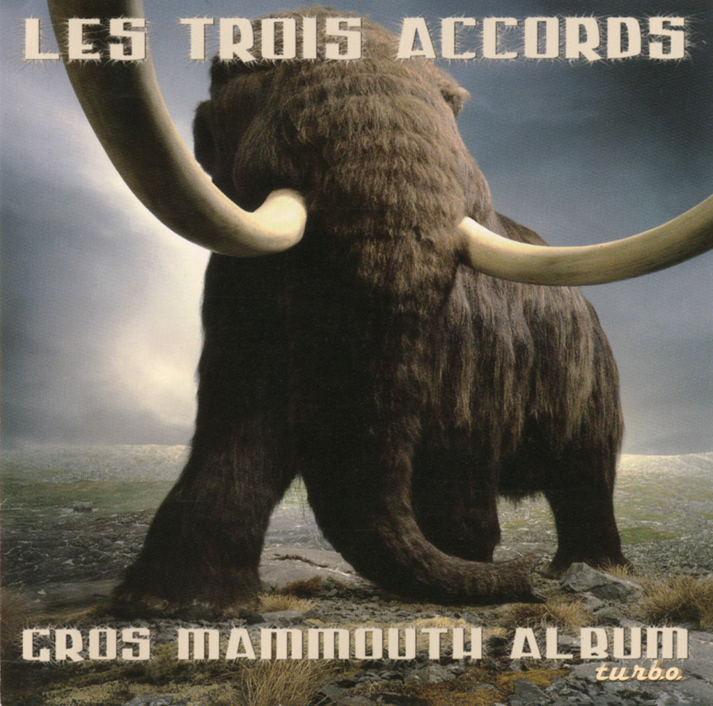 CD - Les Trois Accords - Gros mammouth album turbo - TRICD7355