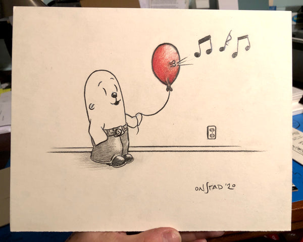 Philippe and the Red Balloon