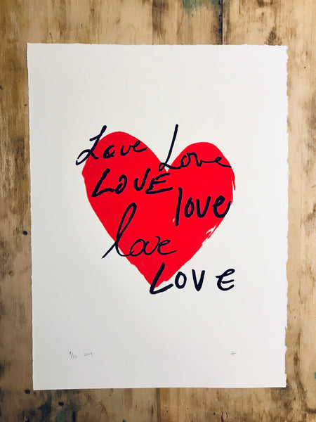 All the Love 11 x 15
