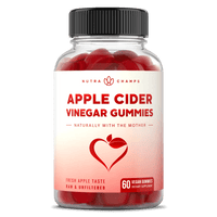 Front View of the NutraChamps Apple Cider Vinegar Gummies Bottle