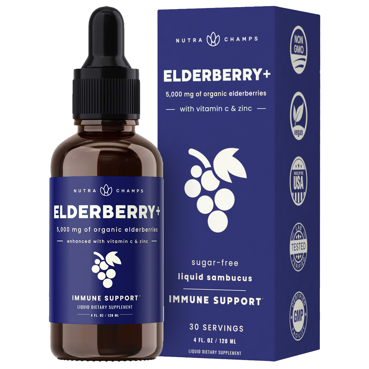 Elderberry Drops Plus