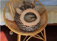 Load image into Gallery viewer, Cat Bed Small Pet Bed House Soft Bed Mats Puppy Warm Sleeping