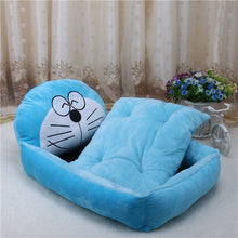 Load image into Gallery viewer, Cat Bed Small Pet House Soft Bed Puppy Warm Sleeping