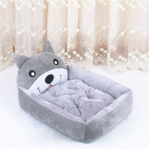 Cat Bed Small Pet House Soft Bed Puppy Warm Sleeping