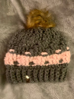 Winter Hats with poms