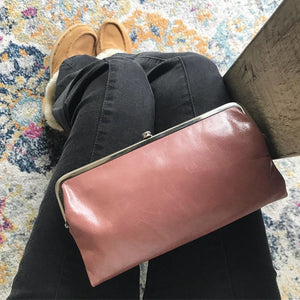 SALE! Hobo Lauren Wallet/Handbag in Burnished Rose