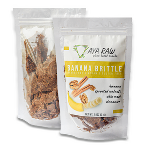 Raw Banana Brittle